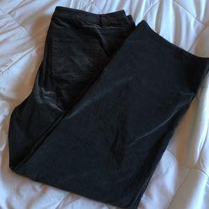 20W - Gray corduroy pants