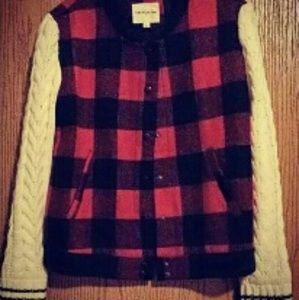 Jackets & Blazers - Adorable plaid jacket