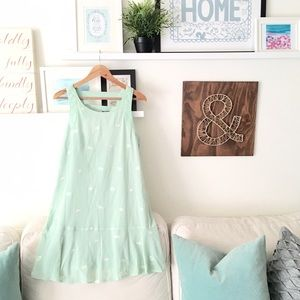 Sea Foam Green Art Deco Spring Dress