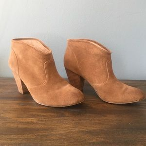 Report Shoes - Report tan booties
