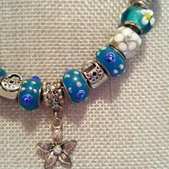 dione jewelry dione lampwork glass beads necklace
