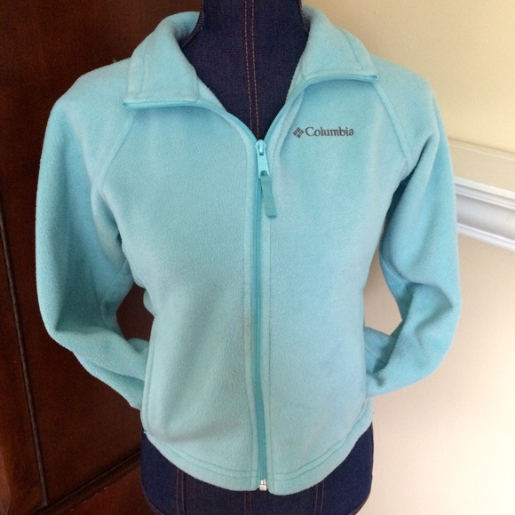 86% off Columbia Jackets & Blazers - Light Baby Blue Columbia ...