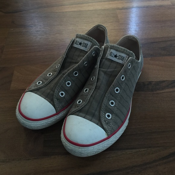 b195b616135c Converse Shoes - Converse no lace slip on