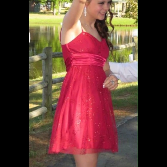Dresses Semi Formal Red Dress Size 3 By Byby Poshmark