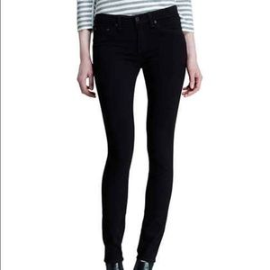Rag and Bone Black Legging Jeans