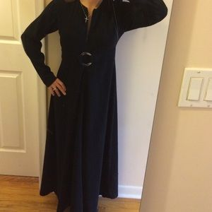 Vintage Raza long black gown. Like new condition