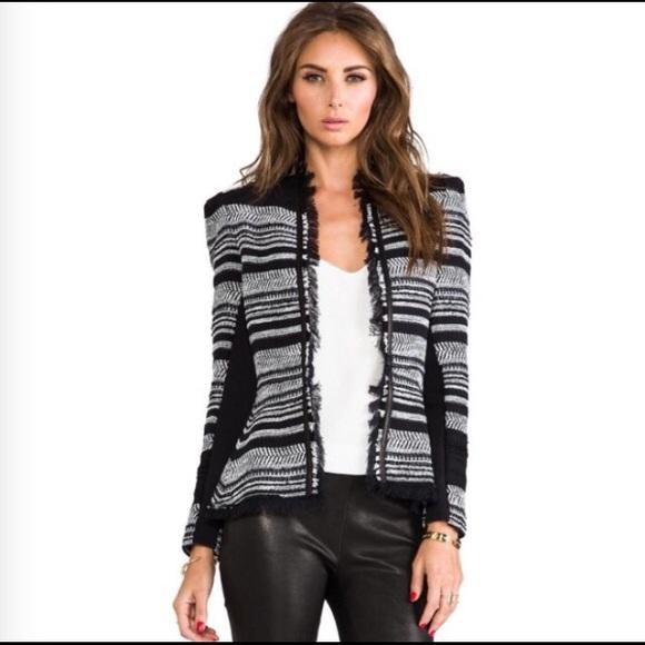 6709d4096857 Rebecca Taylor Jackets & Coats | Striped Tweed Jacket | Poshmark