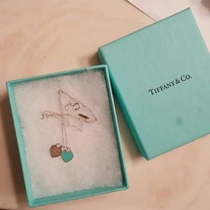 Tiffany & Co. Heart charm necklace 925 silver