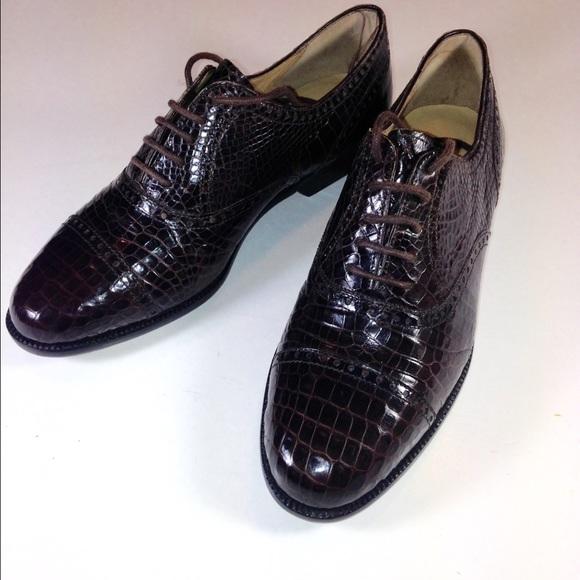 Colehaan Womens Alligator Shoes Sz 5b