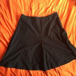 Black A-Line Skirt, Size 16