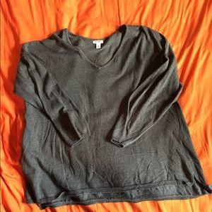 Gray Old Navy Sweater, XXL