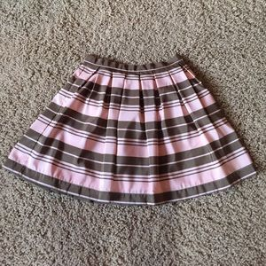 Dresses & Skirts - Pink and olive green skater skirt.