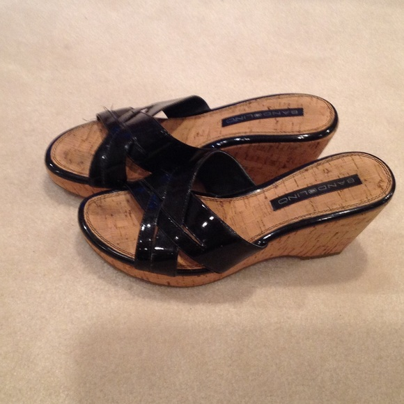 affb538cc2 Bandolino Shoes | Cork Wedge Sandals | Poshmark