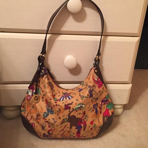 a0e6bc623e Handbags - NWOT Piero Guidi Magic Circus handbag!
