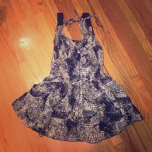 Dresses & Skirts - Strappy Aztec Print Dress