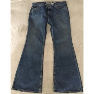 83% off Old navy Denim - Old navy bell bottom jeans - 34 waist 31 ...