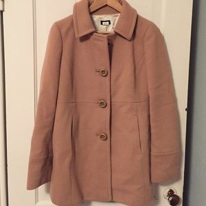 JCrew wool pea coat size 6