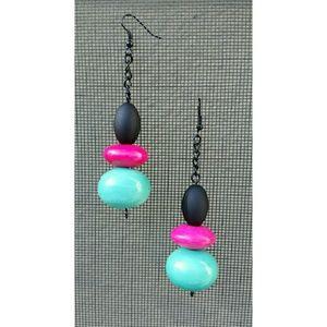 Designer Handmade Bold Statement Earrings