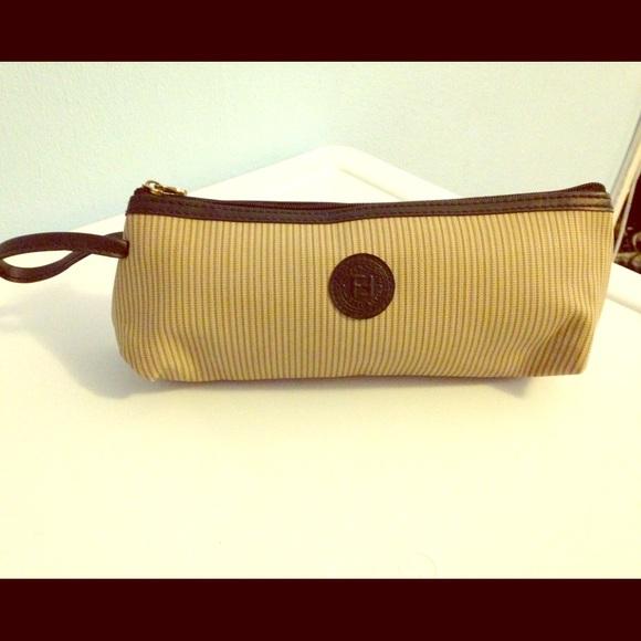 5c79176a6a FENDI Handbags - Fendi Makeup Wristlet