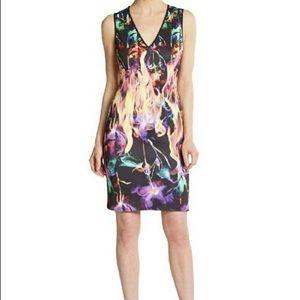Clover Canyon Dresses & Skirts - Clover Canyon Flamenco Fire Bodycon Dress