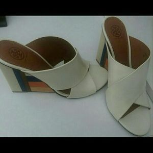 Tory Burch Color-cube Mules