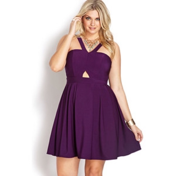 83b31a5c2b38 Forever 21 Dresses   Skirts - Cute purple dress!