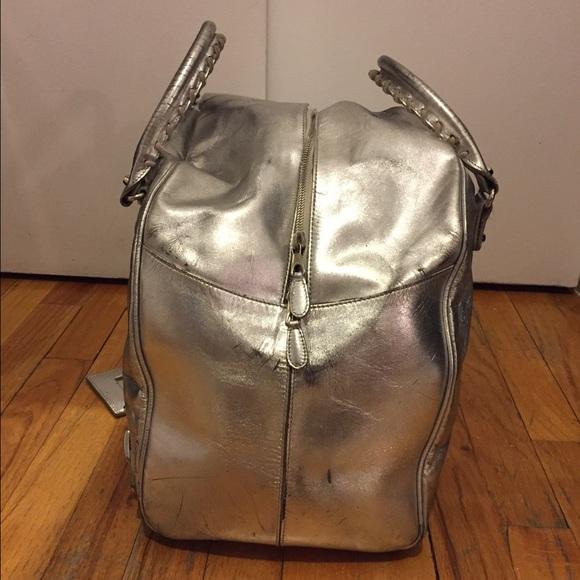 Luxury Navi Crocodile Handbag | Large Balenciaga Weekender ...