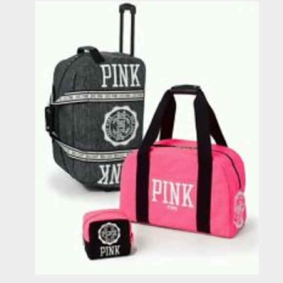 8% off PINK Victoria's Secret Accessories - Pink vs luggage from ...