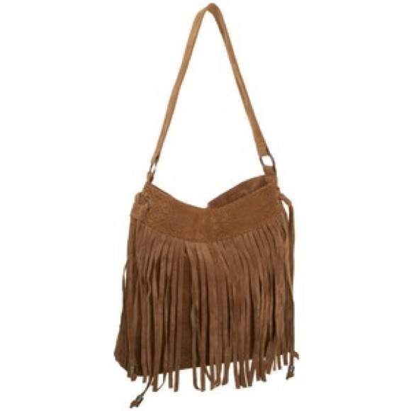 54 handbags brown fringe hobo bag from