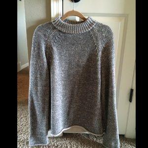 DKNY size Medium oversized marled grey sweater.