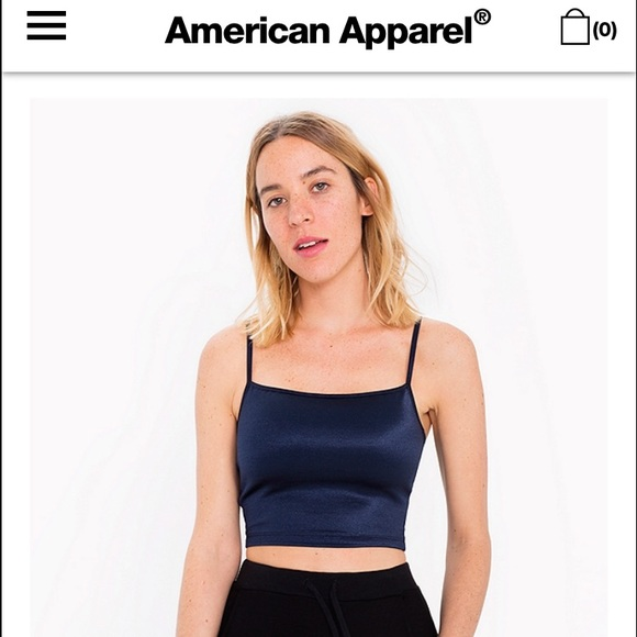 bda4b443da8b68 American Apparel Tops - American apparel disco tank top