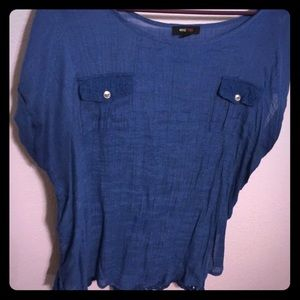Mine too Tops - Cute blue top👚💙