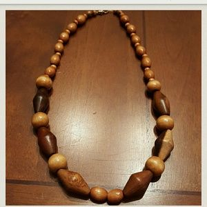 Wooden Chunky necklace