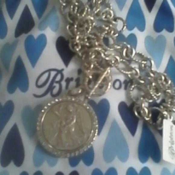 Brighton jewelry serenity angel necklace poshmark brighton serenity angel necklace aloadofball Choice Image