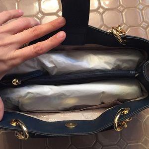 1f968c5f7feb Michael Kors Bags - FINAL DROP Michael kors Fulton chain navy mD tote