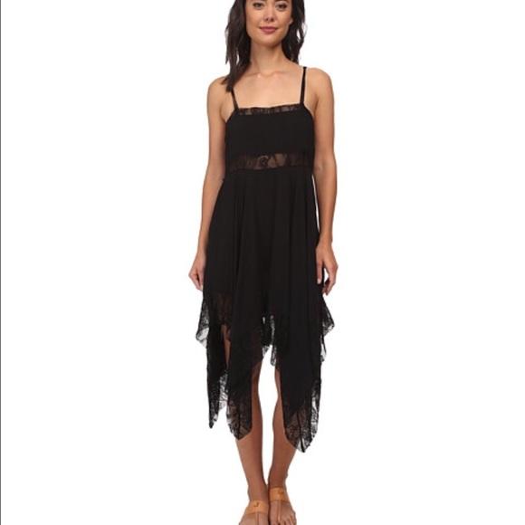 63ca7bdfb6db Free People Dresses   Dobby Dot Lace Pieced Trapeze Slip L   Poshmark