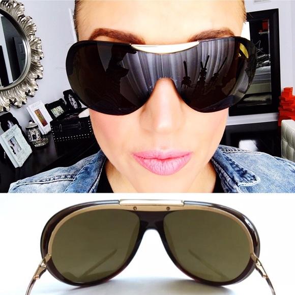 90db8431bc0 CHANEL Accessories - 100% AUTH CHANEL Shield Aviator Sunglasses