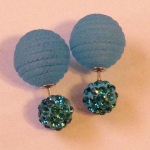 Jewelry - Double Sided Earrings New