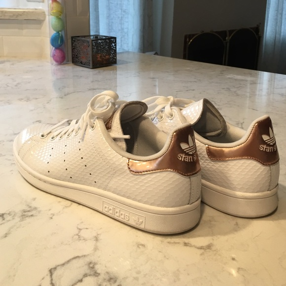22 off adidas shoes rose gold adidas stan smiths from. Black Bedroom Furniture Sets. Home Design Ideas