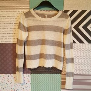 58 off wr sweaters not for sale striped sweater w asymmetric