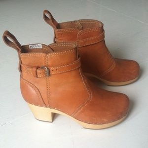 Swedish Hasbeens Shoes - Swedish Hasbeens Toffel Jodhpur ankle boots