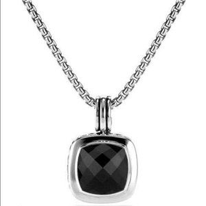 David Yurman Albion Pendant Black Onyx