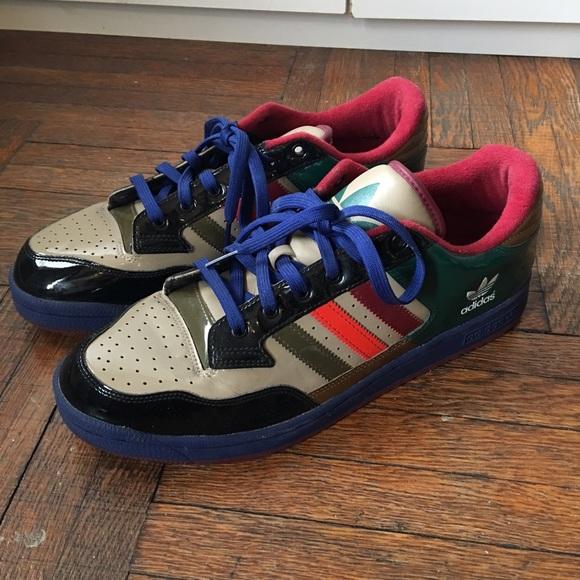Adidas zapatos hombre  vintage de cuero de patente poshmark