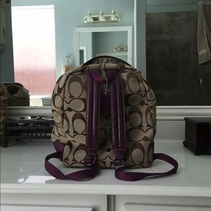 3d9298296a Coach Bags - Coach F77171 signature women s backpack