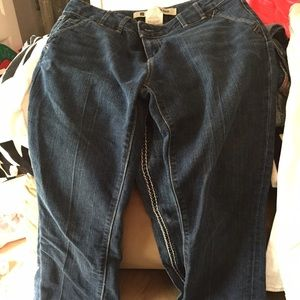 Gap blue jeans