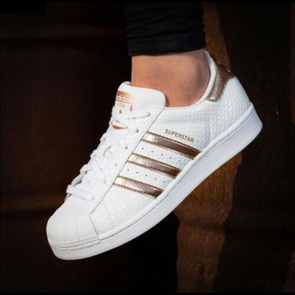 adidas adidas superstar rose gold from a 39 s closet on. Black Bedroom Furniture Sets. Home Design Ideas