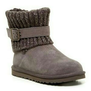 Ugg Australia Cambridge Knit Boots Size 5 - New