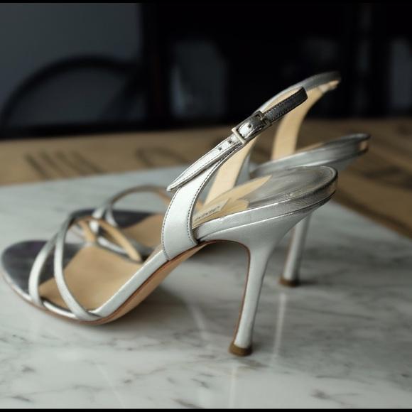 fddbcff651d Jimmy Choo Shoes - ✨ Jimmy Choo Jasmin Silver Metallic Slingbacks ✨