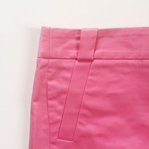 NWT J. Crew City Fit pink shorts