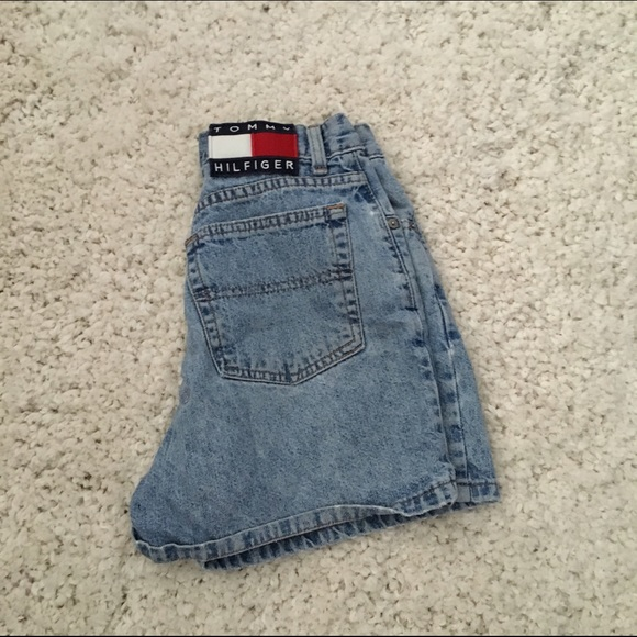 91816029 Urban Outfitters Shorts | Vintage Tommy Hilfiger | Poshmark